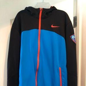 Nike Elite Basketball front-zip hoodie